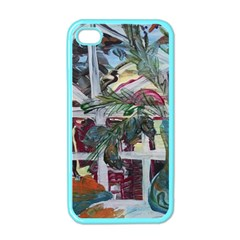 Still Life With Tangerines And Pine Brunch Apple Iphone 4 Case (color)