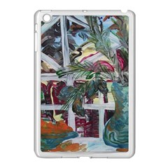 Still Life With Tangerines And Pine Brunch Apple Ipad Mini Case (white)