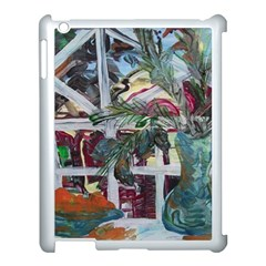 Still Life With Tangerines And Pine Brunch Apple Ipad 3/4 Case (white) by bestdesignintheworld