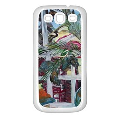Still Life With Tangerines And Pine Brunch Samsung Galaxy S3 Back Case (white)