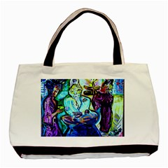 Old Light And New Light Basic Tote Bag (two Sides) by bestdesignintheworld