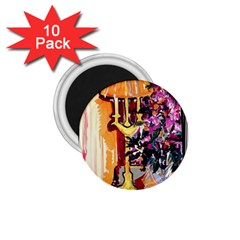 Still Life With Lamps And Flowers 1 75  Magnets (10 Pack)  by bestdesignintheworld