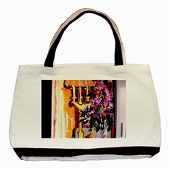Still Life With Lamps And Flowers Basic Tote Bag