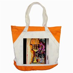 Still Life With Lamps And Flowers Accent Tote Bag