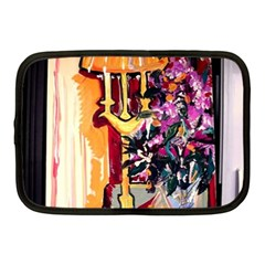 Still Life With Lamps And Flowers Netbook Case (medium)