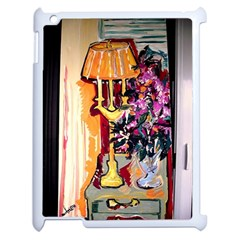 Still Life With Lamps And Flowers Apple Ipad 2 Case (white)