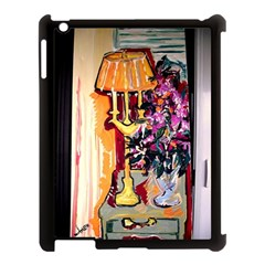 Still Life With Lamps And Flowers Apple Ipad 3/4 Case (black)
