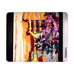 Still Life With Lamps And Flowers Samsung Galaxy Tab Pro 8 4  Flip Case