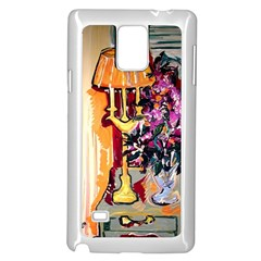 Still Life With Lamps And Flowers Samsung Galaxy Note 4 Case (white)