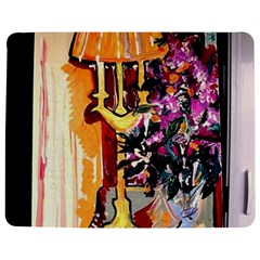 Still Life With Lamps And Flowers Jigsaw Puzzle Photo Stand (rectangular) by bestdesignintheworld