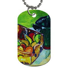 Still Life With A Pigy Bank Dog Tag (two Sides)