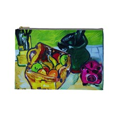 Still Life With A Pigy Bank Cosmetic Bag (large)