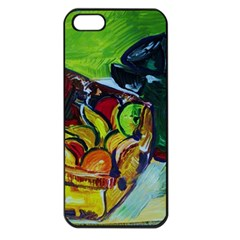 Still Life With A Pigy Bank Apple Iphone 5 Seamless Case (black)