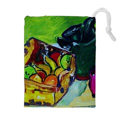 Still Life With A Pigy Bank Drawstring Pouches (extra Large)