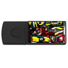 Signs 1/1 Rectangular Usb Flash Drive by bestdesignintheworld