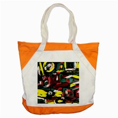Signs 1/1 Accent Tote Bag
