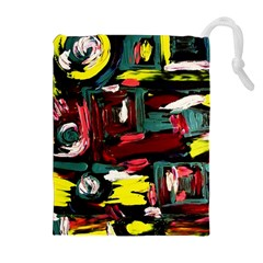 Signs 1/1 Drawstring Pouches (extra Large)