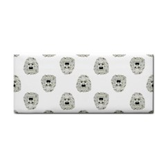 Angry Theater Mask Pattern Cosmetic Storage Cases