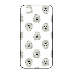 Angry Theater Mask Pattern Apple Iphone 4/4s Seamless Case (black)