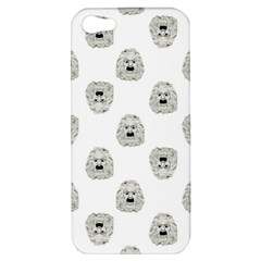 Angry Theater Mask Pattern Apple Iphone 5 Hardshell Case