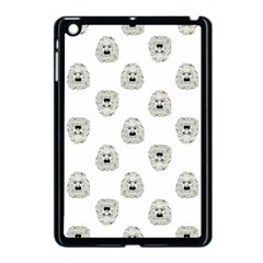 Angry Theater Mask Pattern Apple Ipad Mini Case (black)