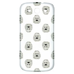 Angry Theater Mask Pattern Samsung Galaxy S3 S Iii Classic Hardshell Back Case