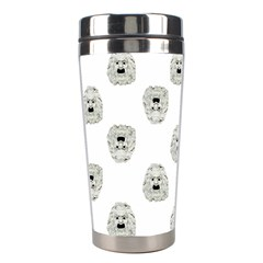 Angry Theater Mask Pattern Stainless Steel Travel Tumblers