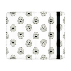 Angry Theater Mask Pattern Samsung Galaxy Tab Pro 8 4  Flip Case