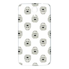 Angry Theater Mask Pattern Samsung Galaxy Mega I9200 Hardshell Back Case