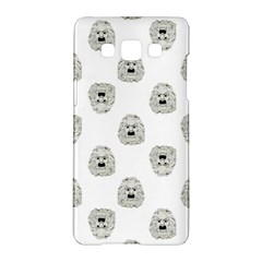 Angry Theater Mask Pattern Samsung Galaxy A5 Hardshell Case