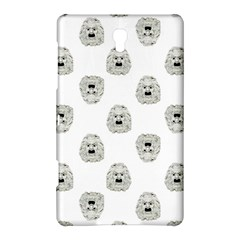 Angry Theater Mask Pattern Samsung Galaxy Tab S (8 4 ) Hardshell Case