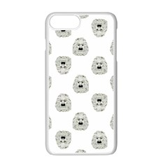 Angry Theater Mask Pattern Apple Iphone 7 Plus Seamless Case (white)