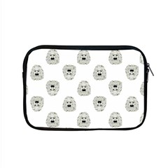 Angry Theater Mask Pattern Apple Macbook Pro 15  Zipper Case