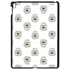 Angry Theater Mask Pattern Apple Ipad Pro 9 7   Black Seamless Case