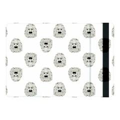 Angry Theater Mask Pattern Apple Ipad Pro 10 5   Flip Case