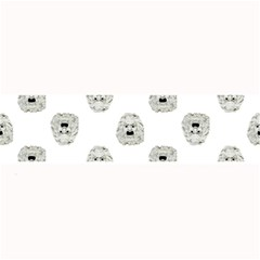 Angry Theater Mask Pattern Large Bar Mats