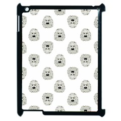Angry Theater Mask Pattern Apple Ipad 2 Case (black)