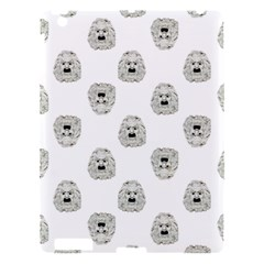 Angry Theater Mask Pattern Apple Ipad 3/4 Hardshell Case
