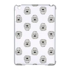 Angry Theater Mask Pattern Apple Ipad Mini Hardshell Case (compatible With Smart Cover)