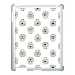 Angry Theater Mask Pattern Apple Ipad 3/4 Case (white)