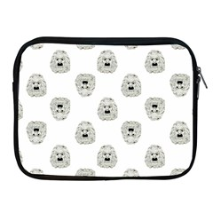 Angry Theater Mask Pattern Apple Ipad 2/3/4 Zipper Cases