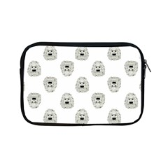 Angry Theater Mask Pattern Apple Ipad Mini Zipper Cases by dflcprints