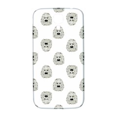 Angry Theater Mask Pattern Samsung Galaxy S4 I9500/i9505  Hardshell Back Case