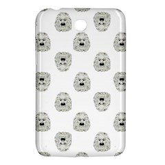 Angry Theater Mask Pattern Samsung Galaxy Tab 3 (7 ) P3200 Hardshell Case