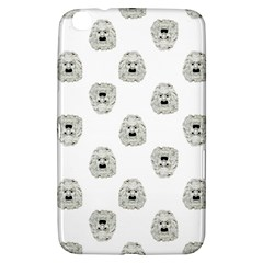 Angry Theater Mask Pattern Samsung Galaxy Tab 3 (8 ) T3100 Hardshell Case