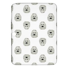 Angry Theater Mask Pattern Samsung Galaxy Tab 3 (10 1 ) P5200 Hardshell Case