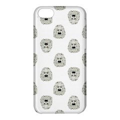 Angry Theater Mask Pattern Apple Iphone 5c Hardshell Case