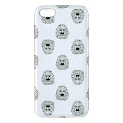 Angry Theater Mask Pattern Iphone 5s/ Se Premium Hardshell Case