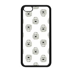 Angry Theater Mask Pattern Apple Iphone 5c Seamless Case (black)