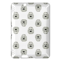 Angry Theater Mask Pattern Kindle Fire Hdx Hardshell Case